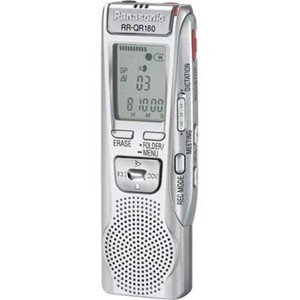 PAN-RRQR180 Panasonic Digital Voice Activated Recorder