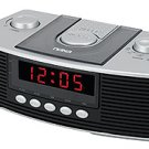 NAXA Digital Alarm Clock with am/fm radio & Snooze