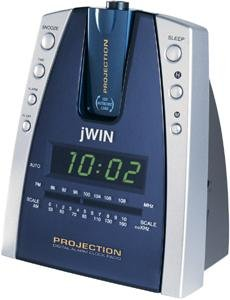 JWIN JL707 PROJECTION & LED ALARM CLOCK RADIO