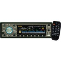 Pyle PLCDUSB78MP3 50W x 4 Receiver with USB Input and Detachable Face