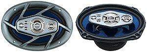 Naxa - NX-769 Car Speakers (Blue)