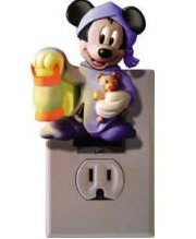 TELEMANIA Novelty Mickey Talking Night Light