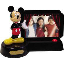 """TELEMANIA Novelty """"Mickey Mouse"""" with talking night light"""