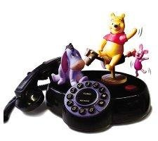 DISNEY PHONES Disneys Pooh & Friends Talking Animated Phone