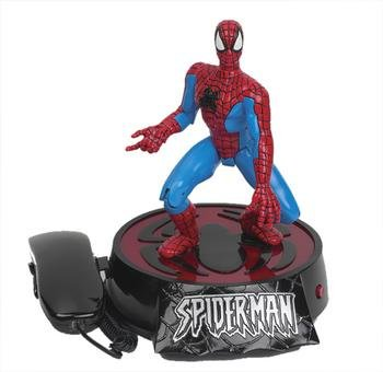 TELEMANIA Animated Spiderman Phone