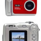 Vu Point Digital camera point and shoot 5.0 Mpix 8 Mpix (interpolated) MMC, SD