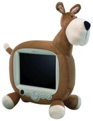 "Hannspree Plush Dog 10"" LCD TV"