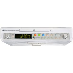 GPX KCC-D3004DP Under-Cabinet Programmable CD Player
