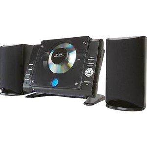 Coby Cxcd377-bk Stereo Desktop Mini Audio System