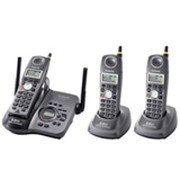 Panasonic KX-TG5653BP Cordless Phone System w/ 3-Handsets and answering machne (KX-TG5653BP)