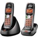 5.8 GHz 2 Handset Digital Expandable Phone System, 10 Handset Expandability,