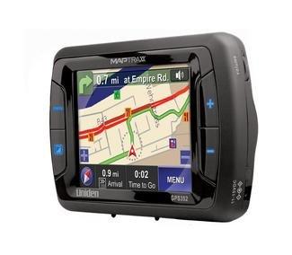 "UNIDEN Maptrax Automotive 3.5"" Turn-By-Turn Navigator"