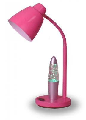 CREATIVE MOTIONS 17 Inch New Metal Task Lamp - Pink Color