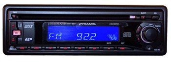 Pyramid CDR28MA AM/ FM/ MPX-CD/ MP3 Player with Detachable Face