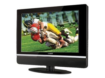 """Coby TF-TV1912 19"""" WideScreen LCD TV"""