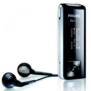 Philips SA1333 1GB Flash Audio Player, MP3/WMA/FM Tuner, 2Color OLED Display, USB 2.0