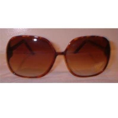 BIG BROWN SUNGLASSES VINTAGE 80S LIKE NICOLE RICHIE MKA