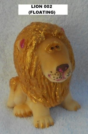 LION HAND PAINTED SOAP