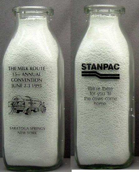Milk Bottle Pt. 15TH Convention Milk Truck Mint mr5 Read FAQ .