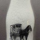 MILK BOTTLE 1/2 PT 2 color TMR CONVENTION 2004 MINT MILK DELIVERY WAGON mr7
