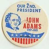 JOHN ADAMS, 2nd PRESIDENT MILK BOTTLE CAPS Historical p2L read more . . . .