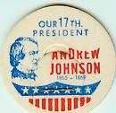 Andrew Johnson 17th PRESIDENT MILK BOTTLE CAPS pLs17S Quantities Available read more . . . .