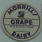 MORRILLS DAIRY, GRAPE, MILK BOTTLE CAP, Mc16-Quantities available read on