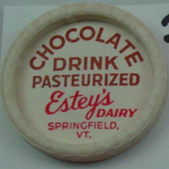 ESTEY�S DAIRY, VT., CHOCOLATE DRINK, MILK BOTTLE CAP, Mc20-Quantities