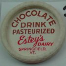 ESTEY'S DAIRY, VT., CHOCOLATE DRINK, MILK BOTTLE CAP, Mc20-Quantities