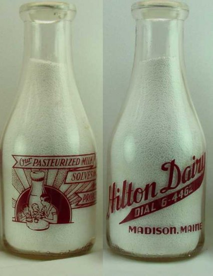 HILTON DAIRY, Madison, ME Mint with nice PIX, TRPQ, Mint  p-146 more