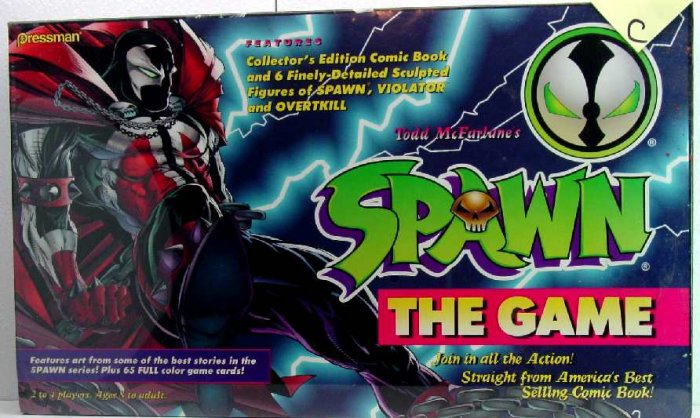 SPAWN THE GAME by TODD MacFARLANE, SEALED BOX af-1C