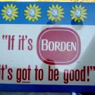 "ELSIE BORDEN CARDBOARD SIGN 36"" by 29"" Mint ncs-100"
