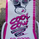 """COOL COW VINYL SIGN 25"""" by 47"""" 2 sides ncs-100"""