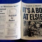 IT'S A BOY AT ELSIE'S DAILY MOOS Newspaper ncs-112