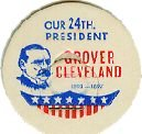 Grover Cleveland 24th PRESIDENT MILK BOTTLE CAPS pLs24M Quantities Available read more . . . .