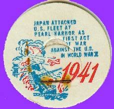 Japan attacks Pearl Harbor, 1941  Historicak Milk Bottle Cap sc24