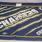NFL FOOTBALL CHARGERS VINTAGE SCARF x3 W4