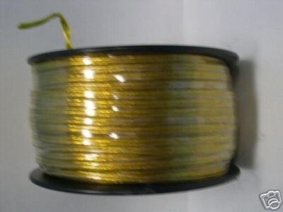 Lamp parts: 250' roll gold cord for wiring lamps TR-830