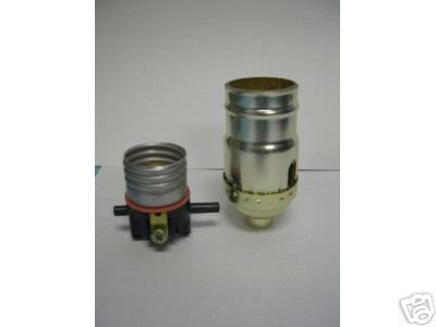 Lamp parts: Push-thru socket, shell, cap- $1.13 ea (TR-19)