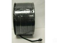 Lamp parts: 250 feet black rayon lamp cord (TR-924)
