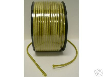 Lamp parts: Gold rayon lamp cord - 250' roll (TR-922)