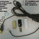 Mini-lamp kit with cand skt and cord with line switch