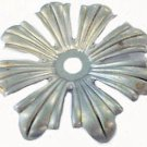 Lamp parts:raw steel 8-leaf metal bobesche - no pin holes      TH-534