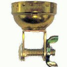 Lamp parts: solid brass cap with wing nut    TR-534