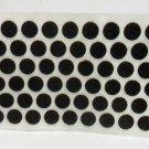 "Lamp parts: Lot of 300.3/8"" Adhesive felt dots   TN-168"
