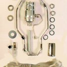 """lamp parts- silver lamp kits - off/on pull-chain, 8"""" harp, neck  TD-397PC"""