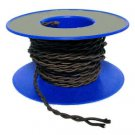 Lamp parts: Brown twisted rayon wire