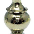 Lamp parts: MODERN NICKEL-PLATED LAMP SHADE FINIAL  TV-1716