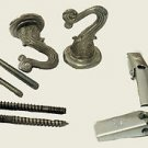 Lamp parts: chrome-plated  hook sets                TD-106