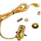 """pre-wired bottle lamp kits    3/4"""" rubber adapter"""